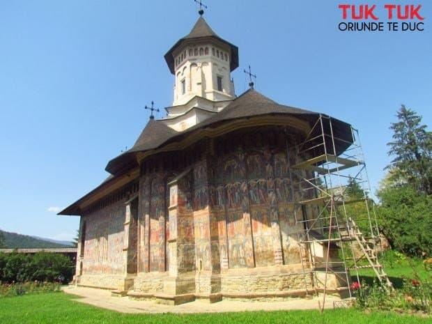 Cocheta manastire Moldovita