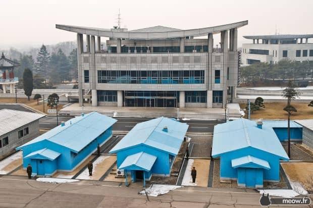Zona demilitarizata dintre cele doua Coree