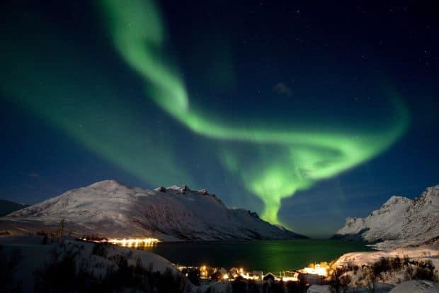Spectacolul oferit de aurora boreala e unic