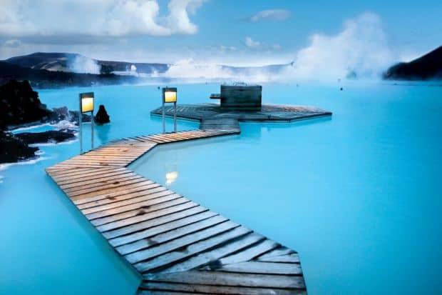 Blue Lagoon - Laguna Albastra din Islanda. Te vei simti in Paradis.