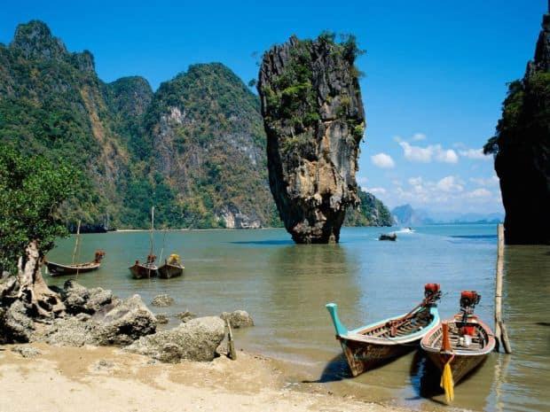 Spectacol thailandez: Krabi