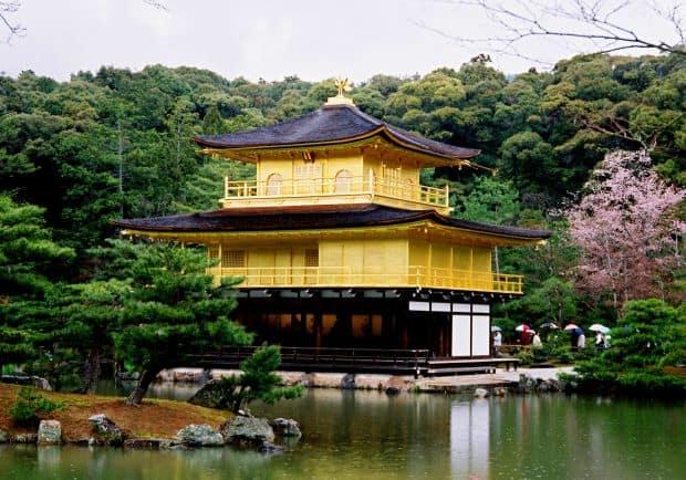 Kinkakuji, Pavilionul de Aur din Kyoto