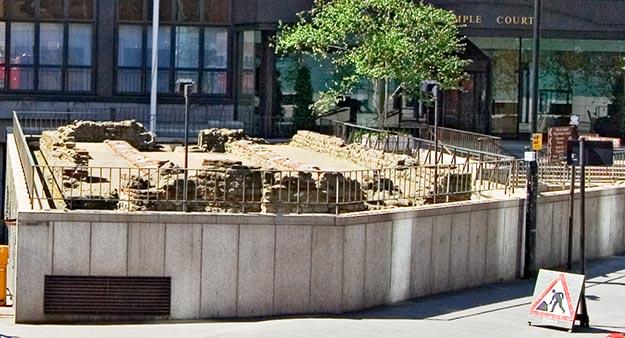 Vestigii romane in centrul Londrei: templul lui Mithras