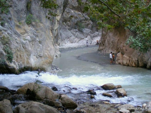 Nu doar mare ci si munte: canionul Saklikent