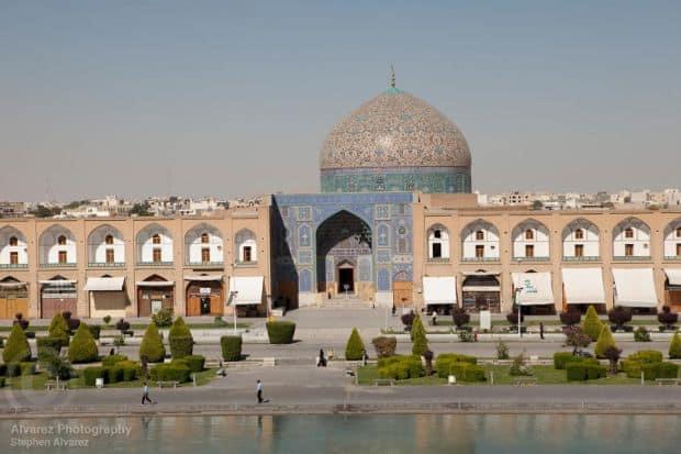 Orasul Esfahan, din Iran