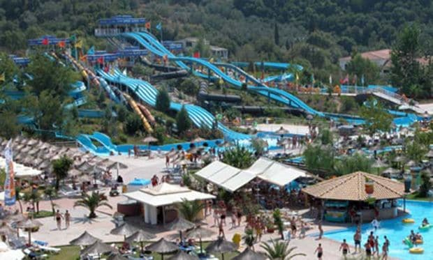 Renumitul Aqualand din Corfu