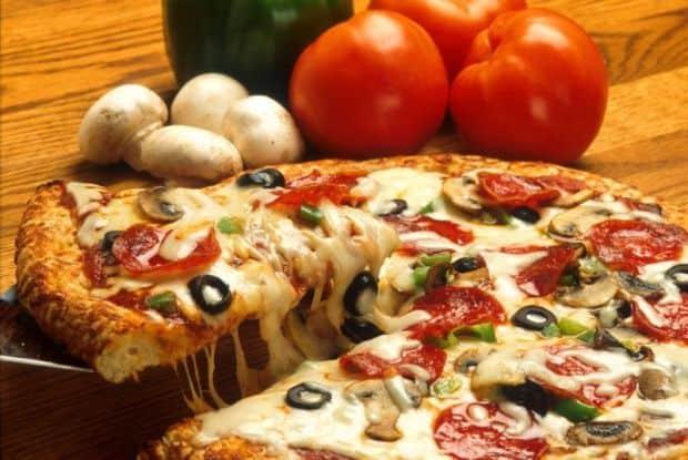 San Marzano pizza