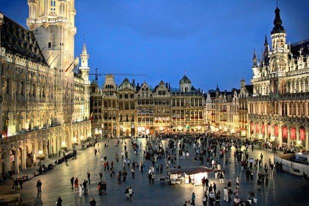 Piata Mare din Bruxelles