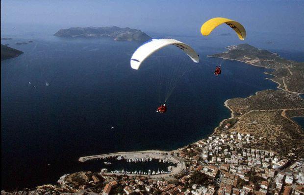 Kas, un loc bun pentru iubitorii de adrenalina