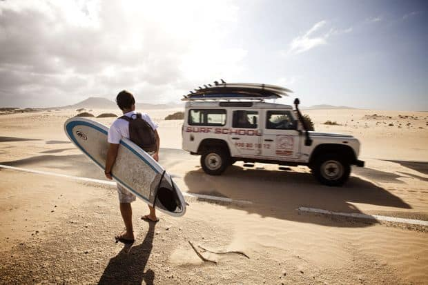 Fuerteventura - un loc special pentru surferi