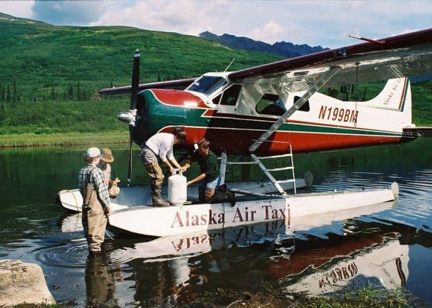 Popularele taxiuri aeriene din Alaska