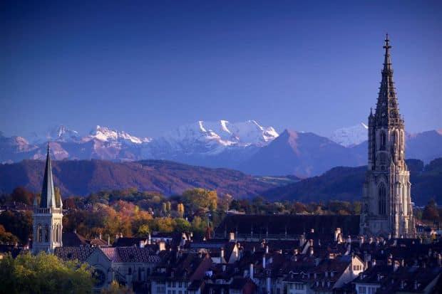 Serenitatea muntilor elvetieni