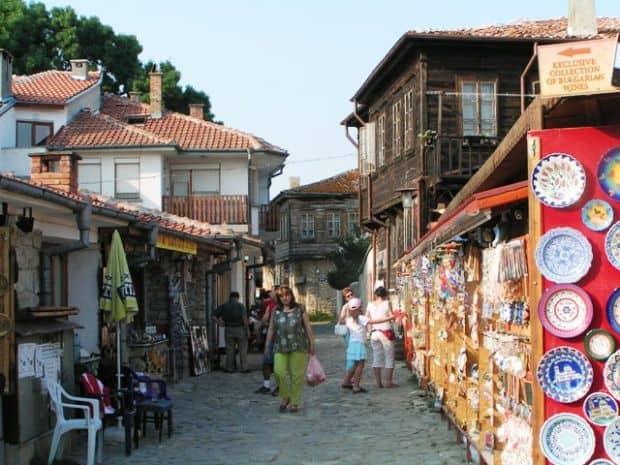 Strada in Nessebar