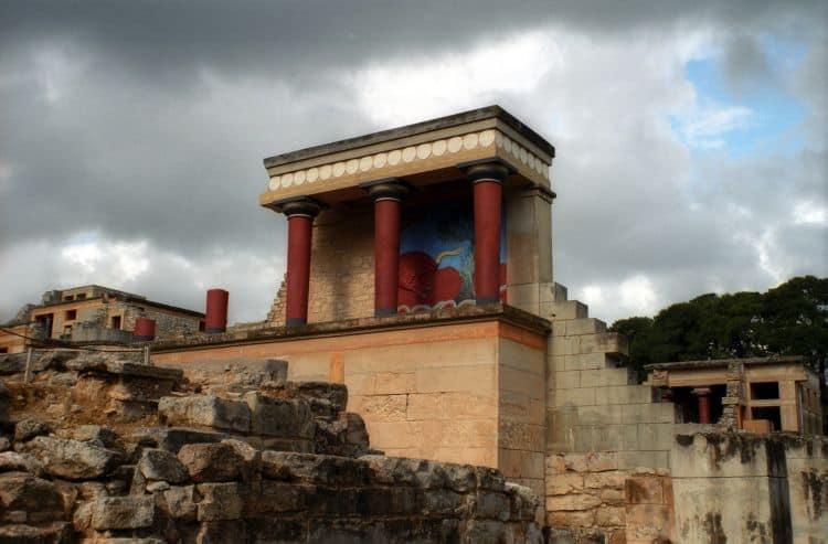 Knossos, Palatul Regal. Foto: garystravels.com