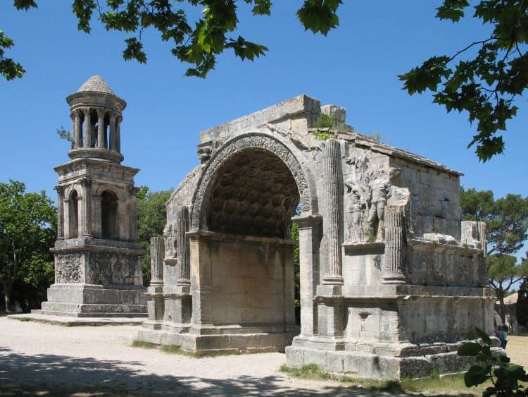 Ruinele romane din Saint Remy de Provence
