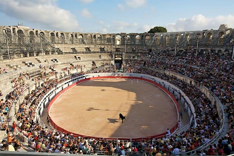 Arena de tauri din Arles