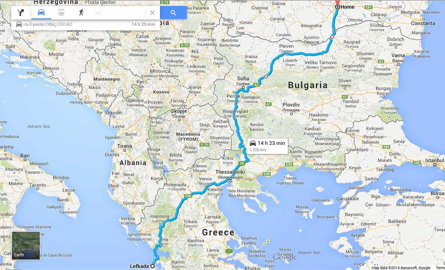 lefkada road