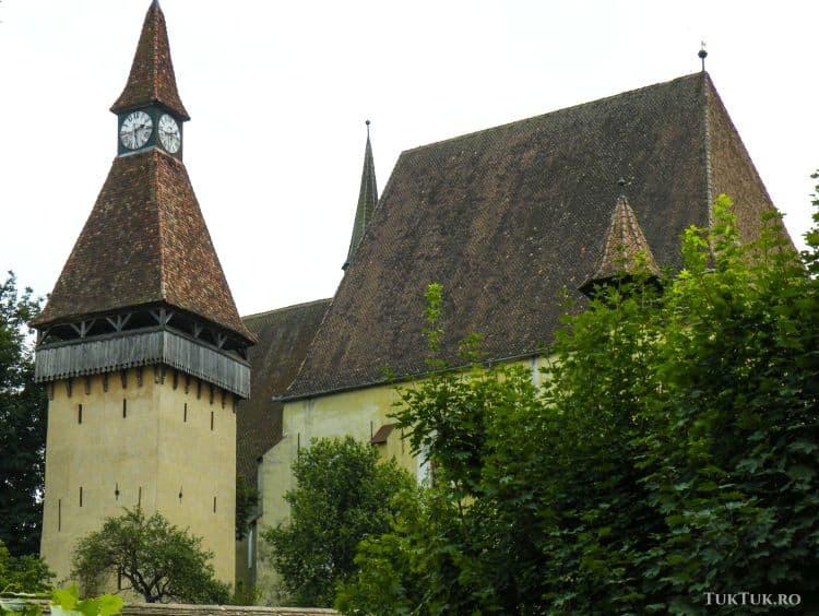 Biserica a fost construita intre 1490 si 1520