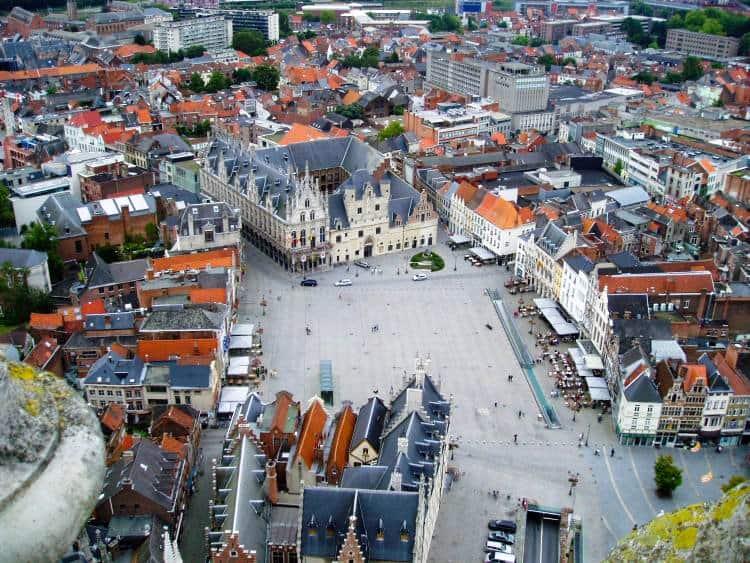 grote markt atractii turistice din Belgia