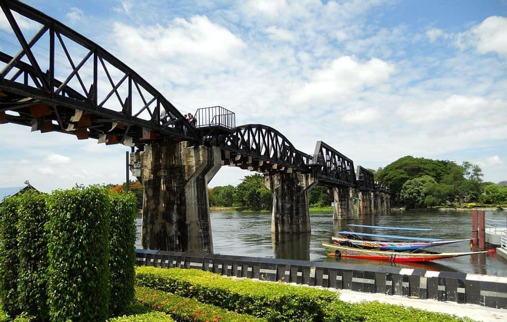 Podul din Kanchanaburi, podul peste râul Khwai. Foto: tripwow.tripadvisor.com