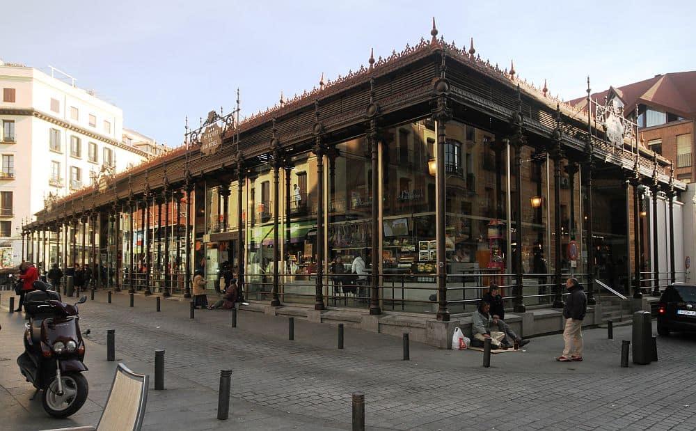 Mercado de San Miguel. Foto: Wikipedia