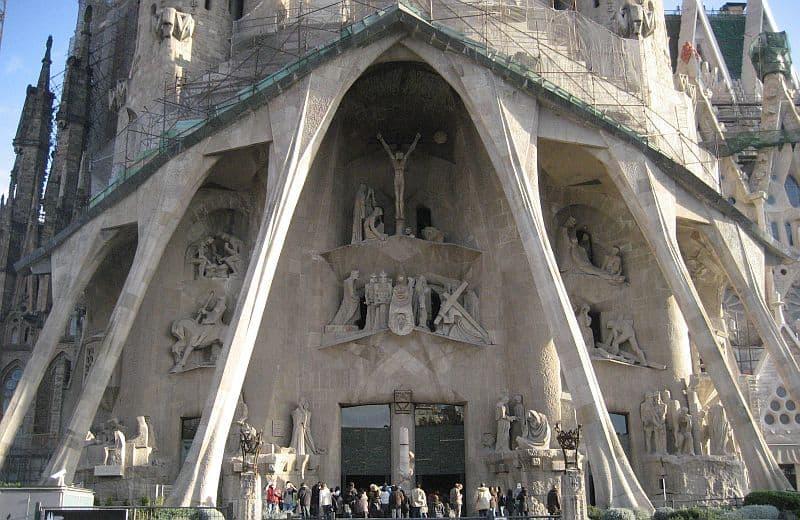 Sagrada Familia - Fațada Pasiunii