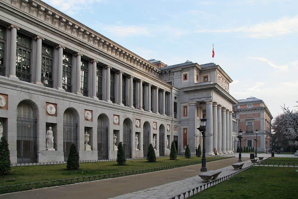 Muzeul Prado, din Madrid, unul dintre cele mai mari și mai frumoase muzee ale lumii. Foto: Wikipedia