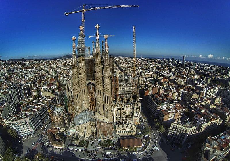 Sagrada Familia, în construcție de peste 100 de ani