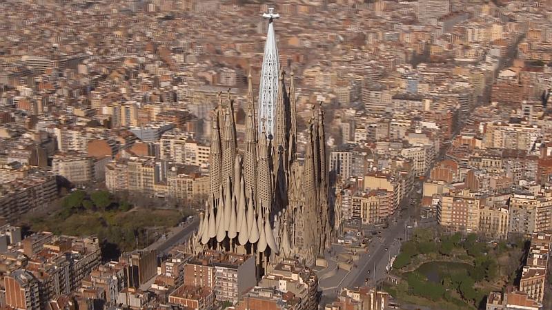 Așa va arăta Sagrada Familia în 2026, când va fi gata
