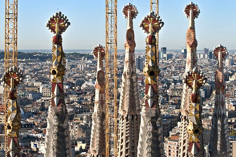 Turnurile Sagradei au câte o semnificație