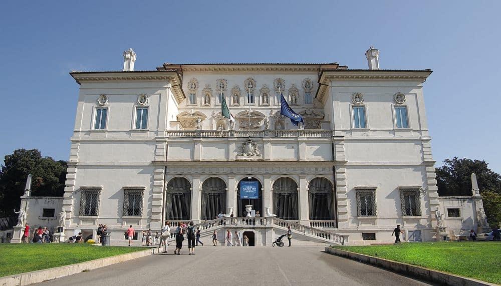 Galeria Borghese. Foto: Shutterstock.com