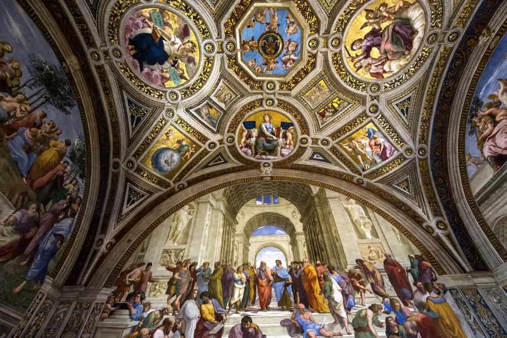 Roma - Muzeul Vaticanului. Foto: photogolfer / Shutterstock.com