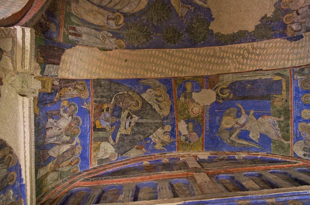 Picturile din biserica Tokali Kilise. Foto: Wikipedia
