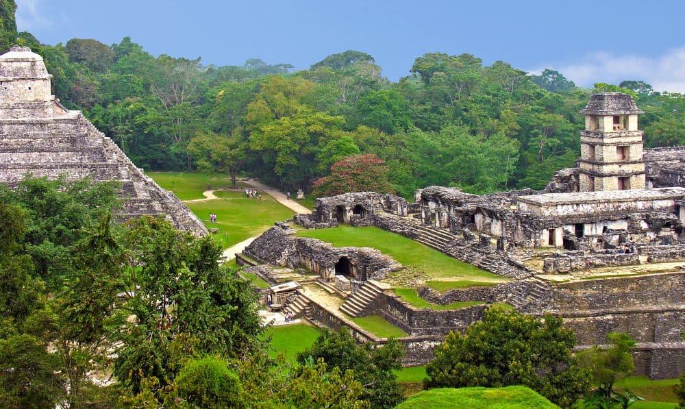 Situl maiaș de la Palenque