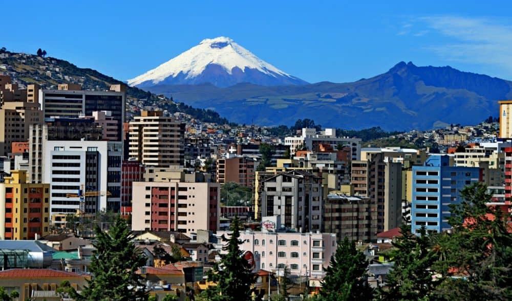 Quito, capitala statului Ecuador. Foto: redmangrove.com