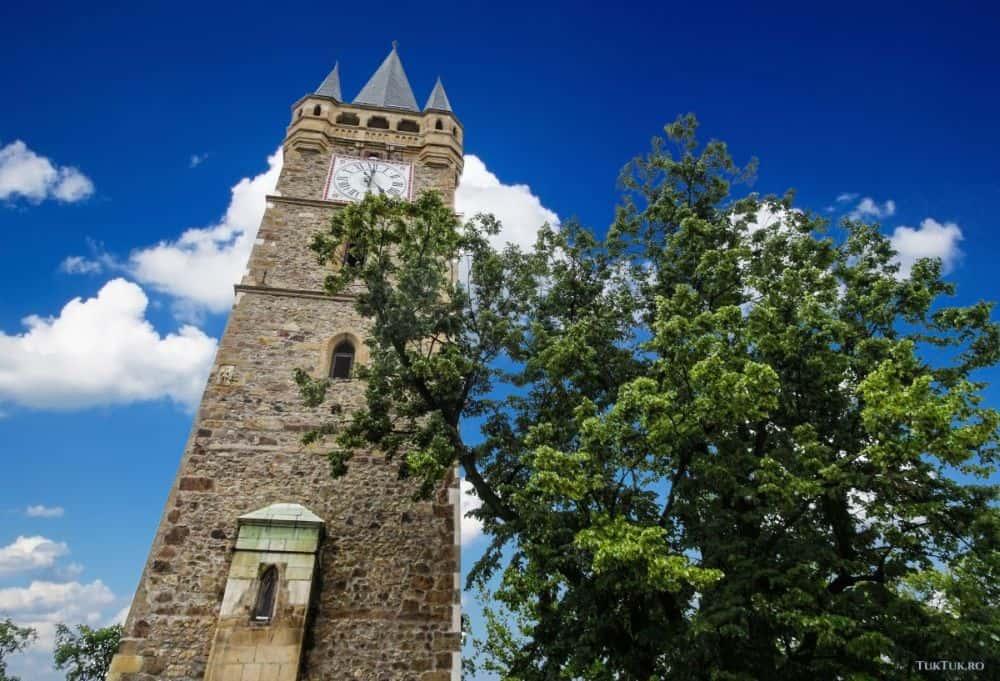 Turneul Sf Stefan din Baia Mare, aflat în Piața Cetății.