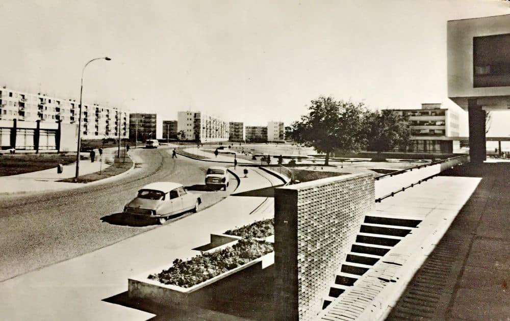 Galați, cartier Țiglina, 1969. Foto: Al. Mendrea