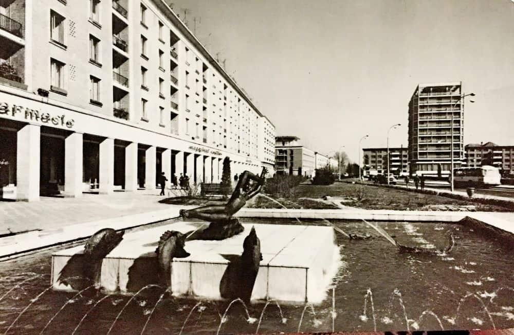 Galați, centru, 1969. Foto: Al. Mendrea