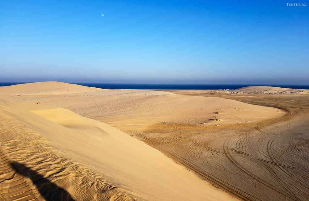 Liniștea deșertului qatarez