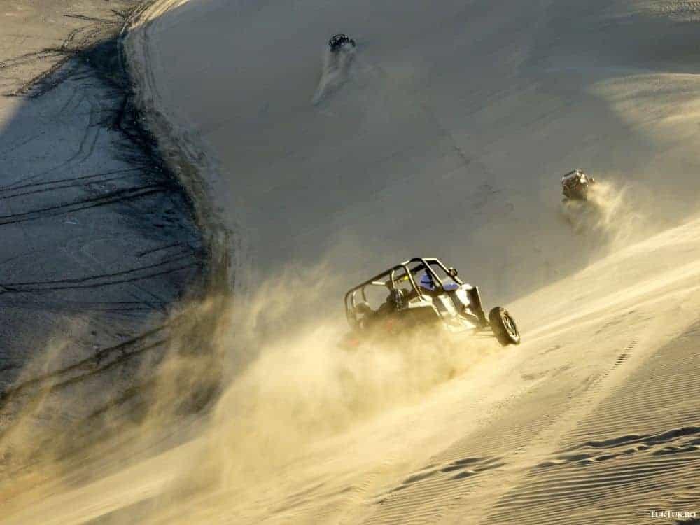 Adrenalină pe dune