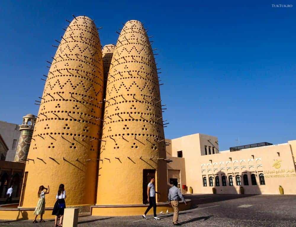 Turnurile porumbeilor, din Katara Village