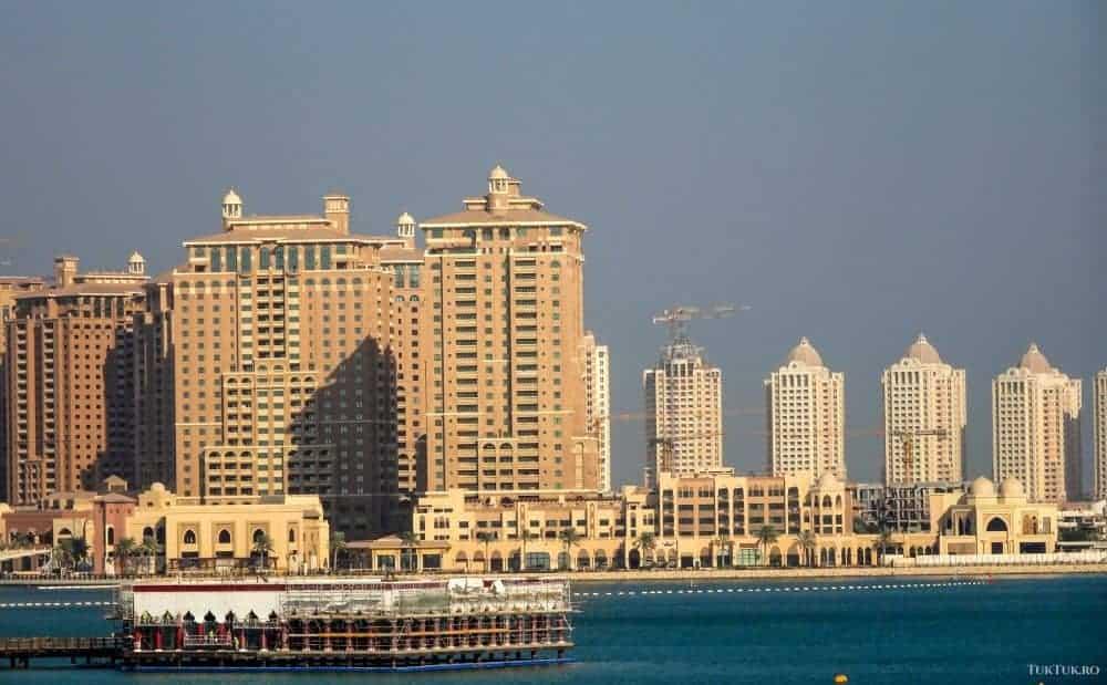 Vedere către Pearl Qatar