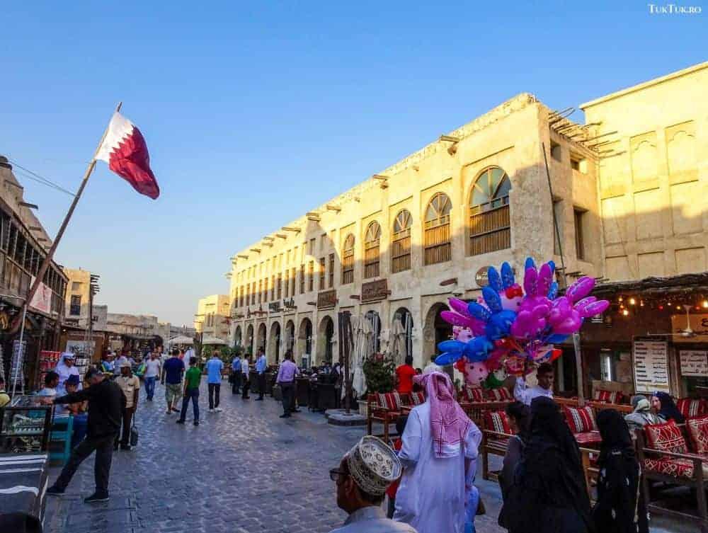 Souq Waqif, un punct de atracție pentru turismul din Qatar