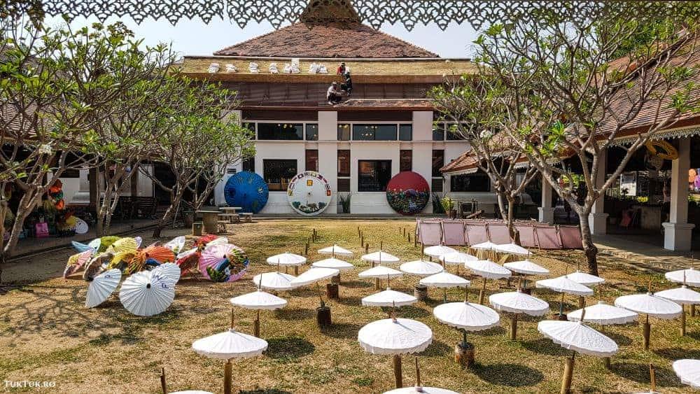 fabrica de umbrele chiang mai