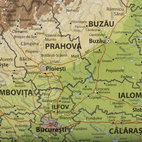 Descoperă Frumusețile țării Cu Harta Răzuibilă A Romaniei